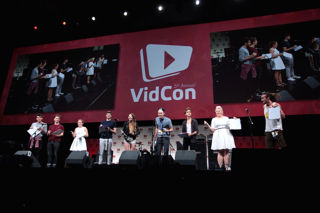 British youtubers at vidcon
