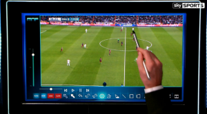 The SkyPad allows many features to help analyse the game